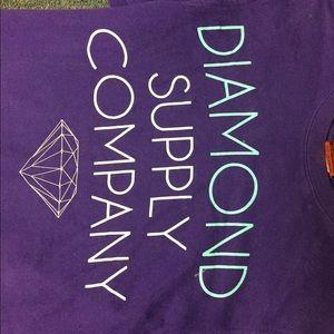 💎💜men's Diamond crew neck sweat shirt 💜💎
